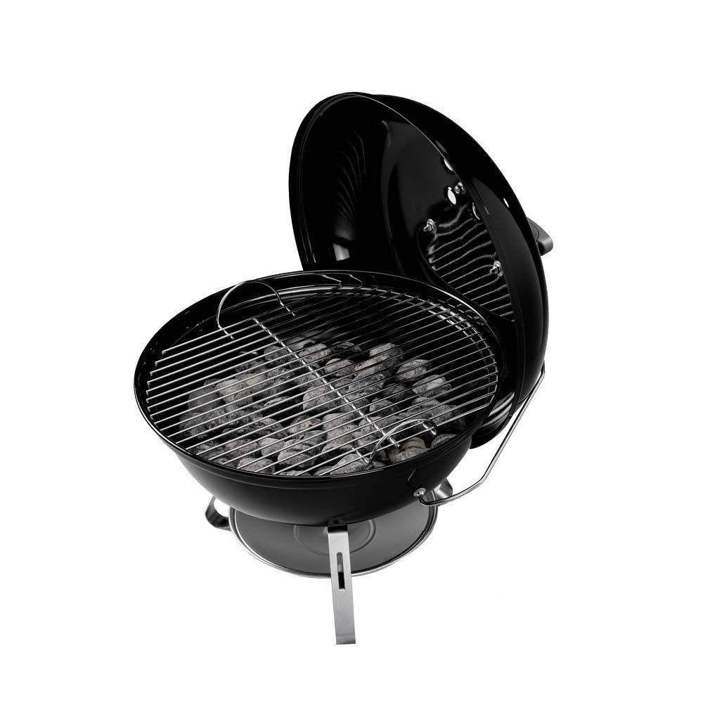 W x 19-3//4 in H Black  Portable Grill  Charcoal Weber  Jumbo Joe  20.5 in