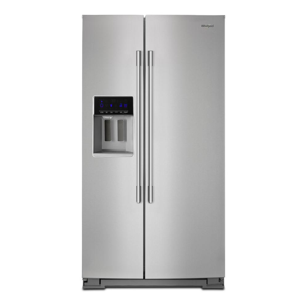 Whirlpool 28 cu. ft. Side by Side Refrigerator in Fingerprint Resistant  Stainless Steel