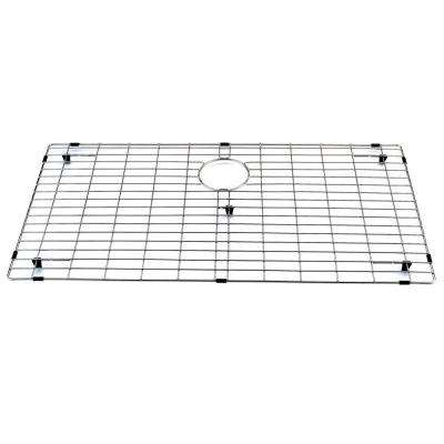 33 in. x 17 in. Kitchen Sink Bottom Grid