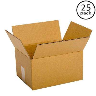 12 in. L x 10 in. W x 6 in. D Box (25-Pack)