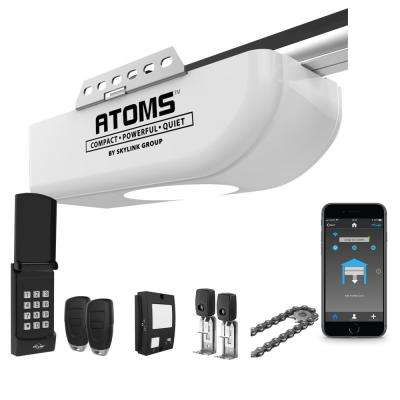 1/2 HP Smart Chain Drive Garage Door Opener with Keypad and Built-In LED Light