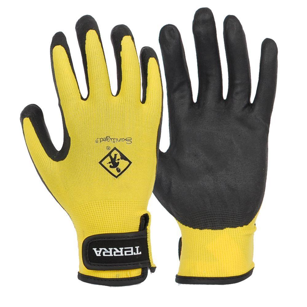 Terra Nitrile Foam Dipped Medium Work Gloves