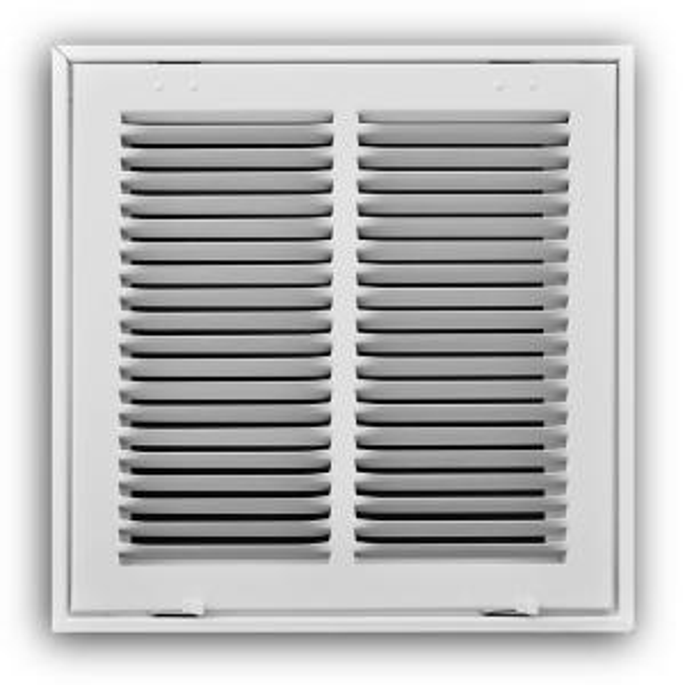 Truaire 16 In X 16 In Steel White Return Air Filter