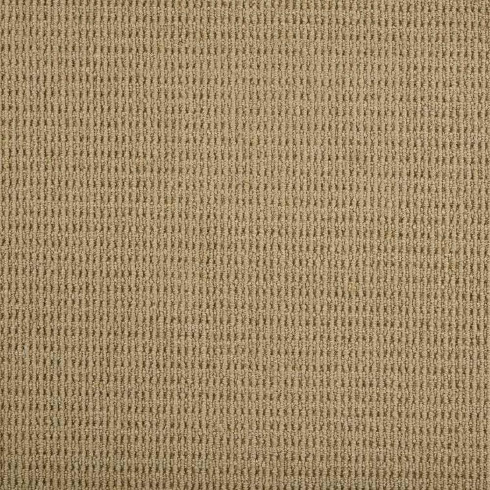 Carpet Sample - Terrain - Color Hazelnut Loop 8 in. x 8 in.