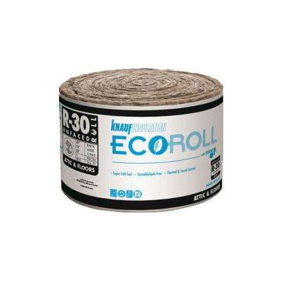 R-30 UnFaced Fiberglass Insulation Roll 15 in. x 22 ft.