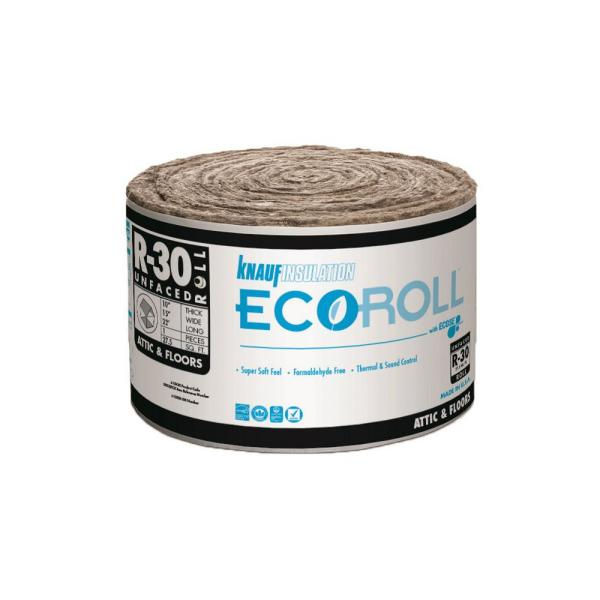R-30 EcoRoll UnFaced Fiberglass Insulation Roll  10 in. x 15 in. x 22 ft.