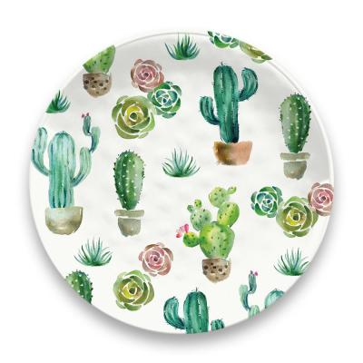 Desert Garden Melamine Dinner Plate (Set of 6)