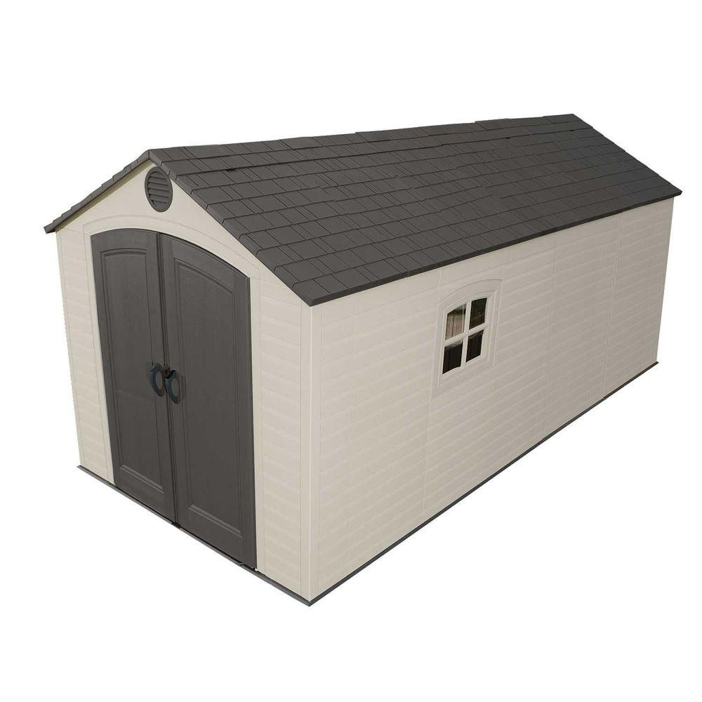 Lifetime 8 Ft X 15 Storage Shed