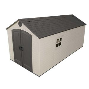 Lifetime 8 ft. x 15 ft. Storage Shed by Lifetime