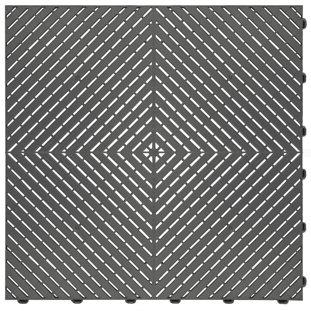 Grey Ribtrax Smooth Eco Flooring