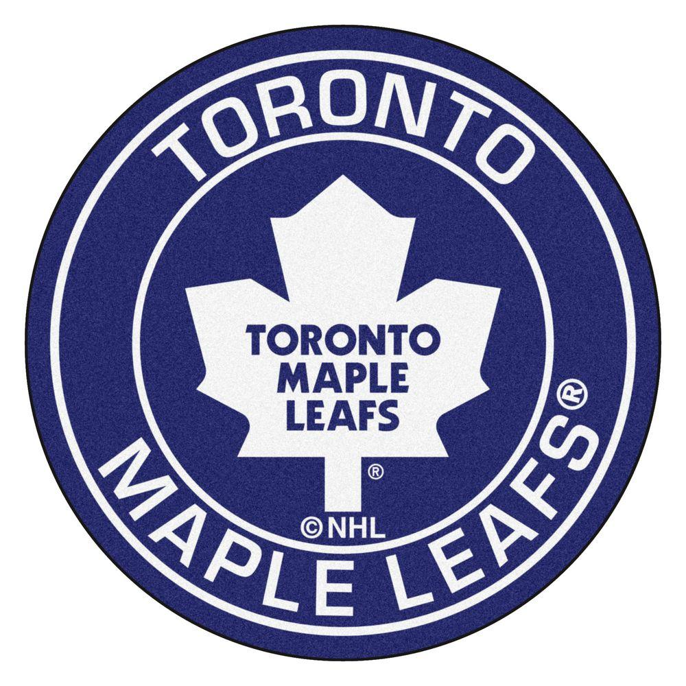 Fanmats Nhl Toronto Maple Leafs Navy 2 Ft 3 In X 2 Ft 3