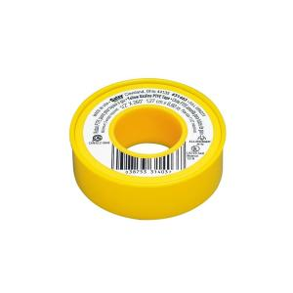 "Super High Quality! TEFLON PLUMBER TAPE PTFE PIPE THREAD TAPE 1//2/"" X 520/"" 1"