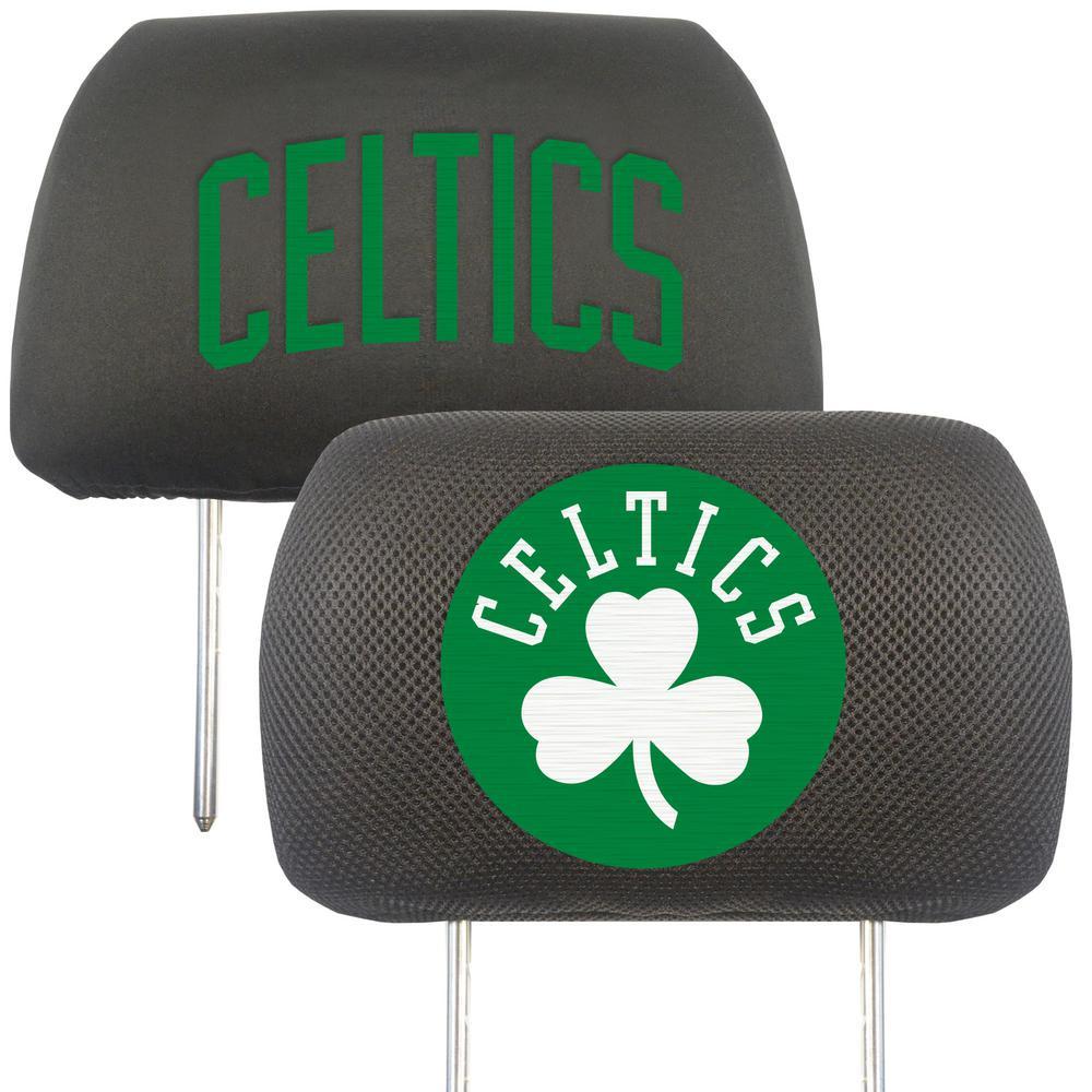 NBA - Boston Celtics Mesh 13 in. x 10 in. Head Rest Cover