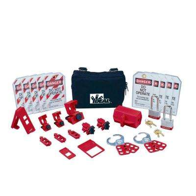 Standard Lockout/Tagout Kit (26-Piece)