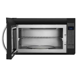 2 Whirlpool 0 Cu Ft Over The Range Microwave In Black Ice