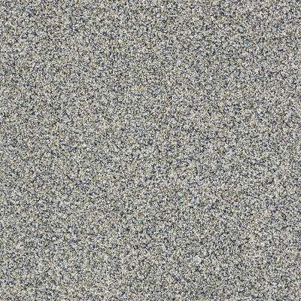 Carpet Sample - Bonanza II - Color Blue Haze Twist 8 in. x 8 in.