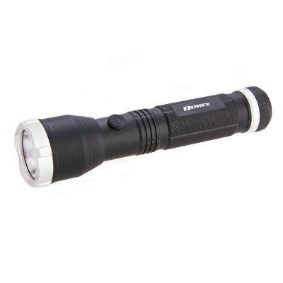 Ultra HD Series Battery Powered 425 Lumens Aluminum Flashlight in Black