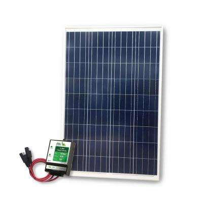 400-Watt Power Kit: 100 Watts of Solar and 300 Watt Inverter