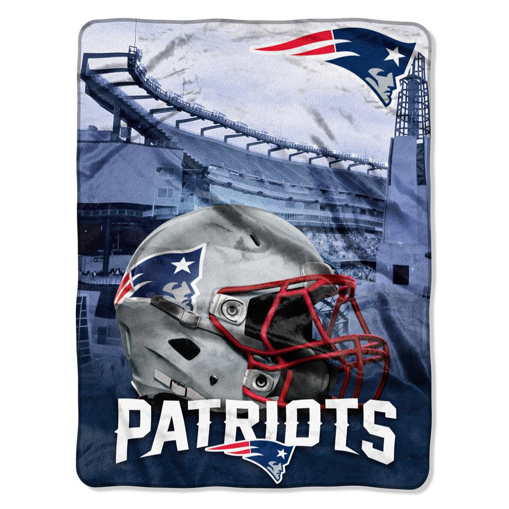 043698d680c Patriots Heritage Silk Touch Throw-1NFL071030076RET - The Home Depot
