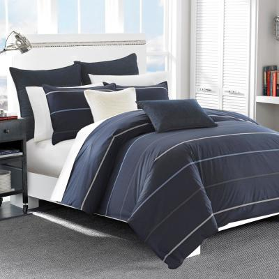 Southport 3-Piece Navy King Duvet Cover Set