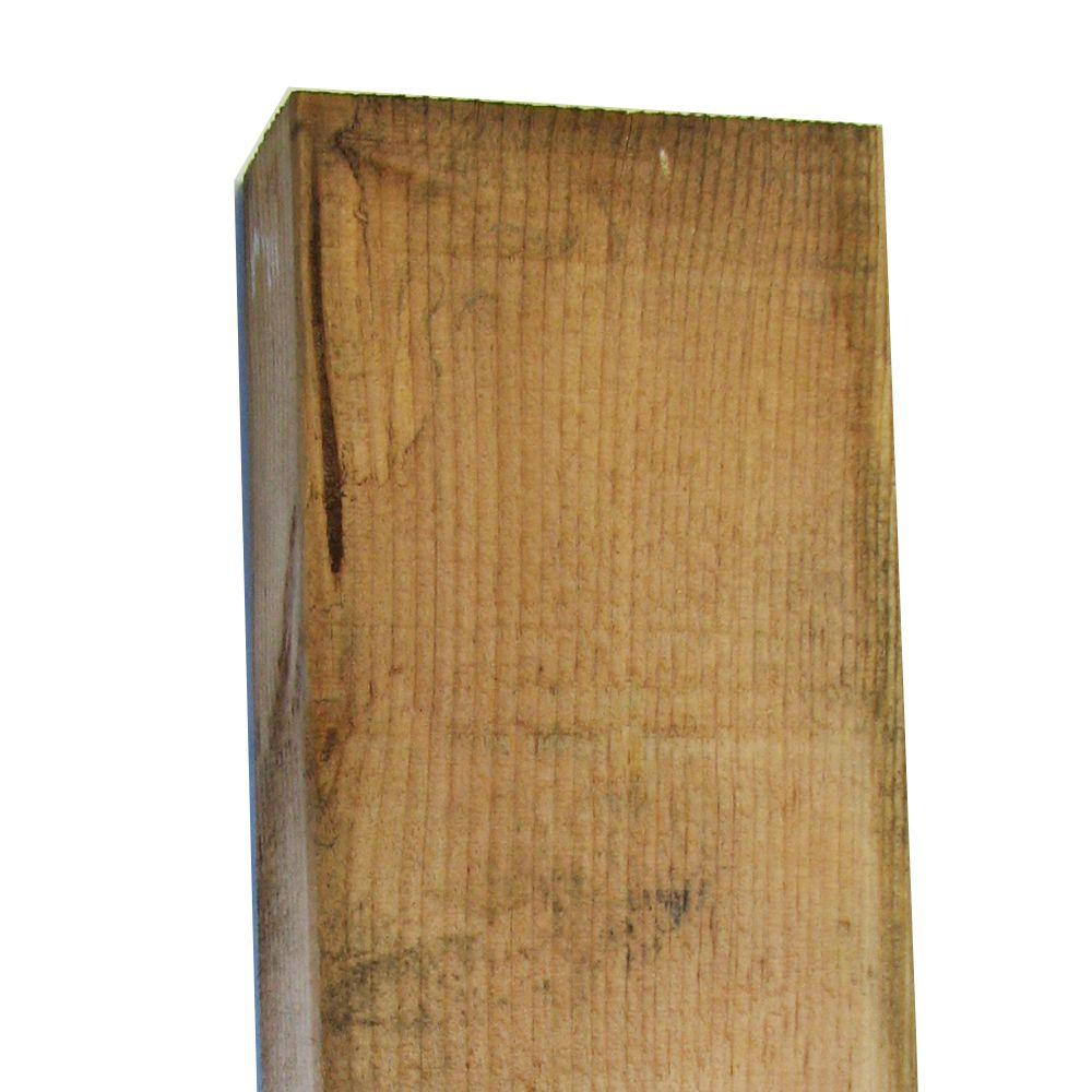 4 in. x 6 in. x 8 ft. #2 Hi-Bor Pressure-Treated Timber
