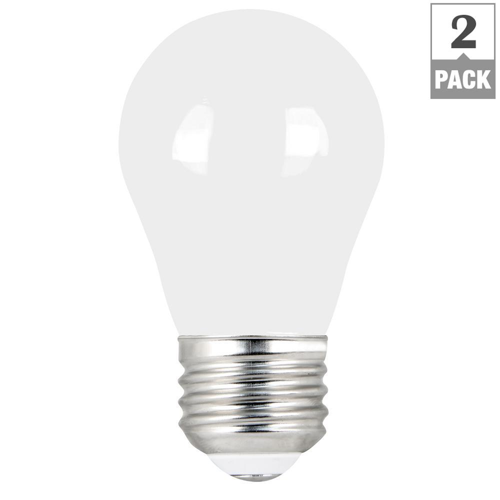 Feit Electric 60-Watt Equivalent A15 Dimmable Filament LED 90+ CRI ...