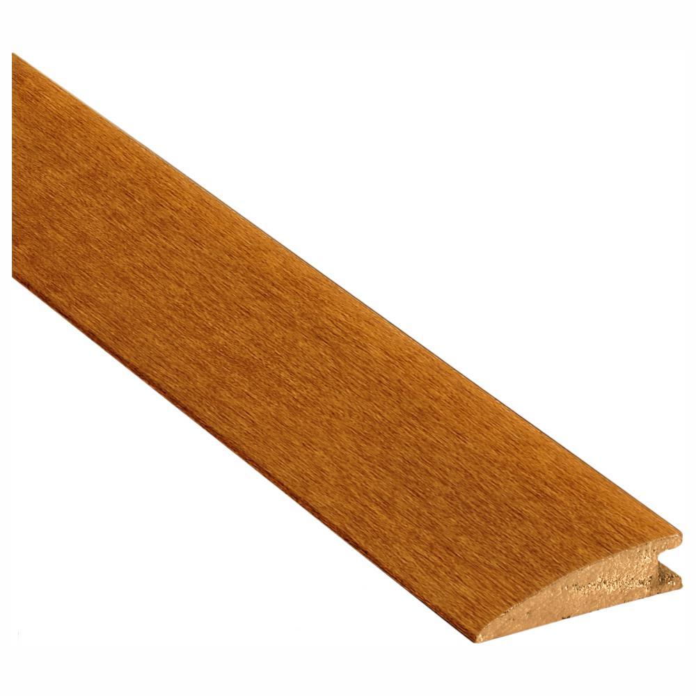 3 FT 1 3//8 Wide Oak Overlap Transition Strip with 1//4 High Overlap