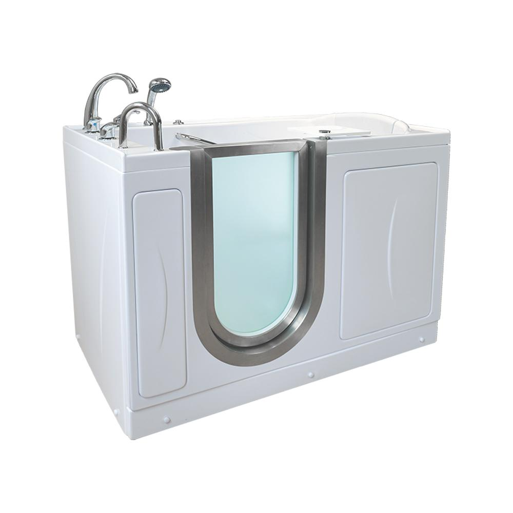 Acrylic Walk In Infusion MicroBubble Air. Ella   Walk in Bathtubs   Bathtubs   The Home Depot