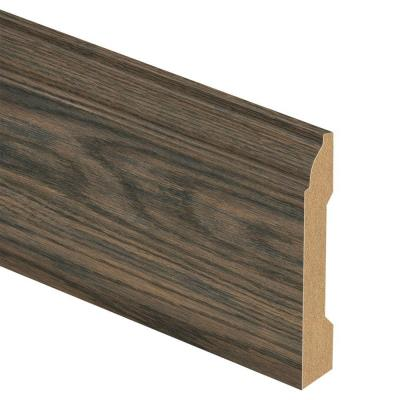 Colfax/Planter's Mill Oak 9/16 in. Thick x 3-1/4 in. Wide x 94 in. Length Laminate Wall Base Molding