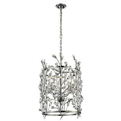 Aster 3-Light Polished Chrome Indoor Chandelier