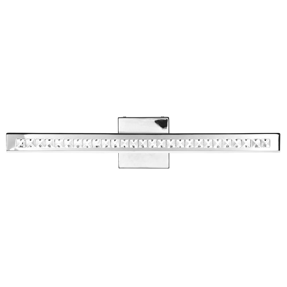 Access Lighting Affluence 32 in. 19.2-Watt Chrome Integrated LED Bath Light with Frosted Shade