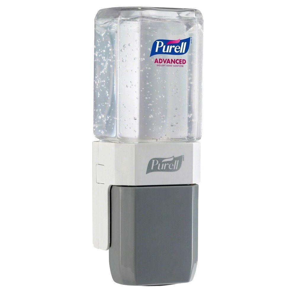 ES Everywhere System Push Pump Dispenser in White