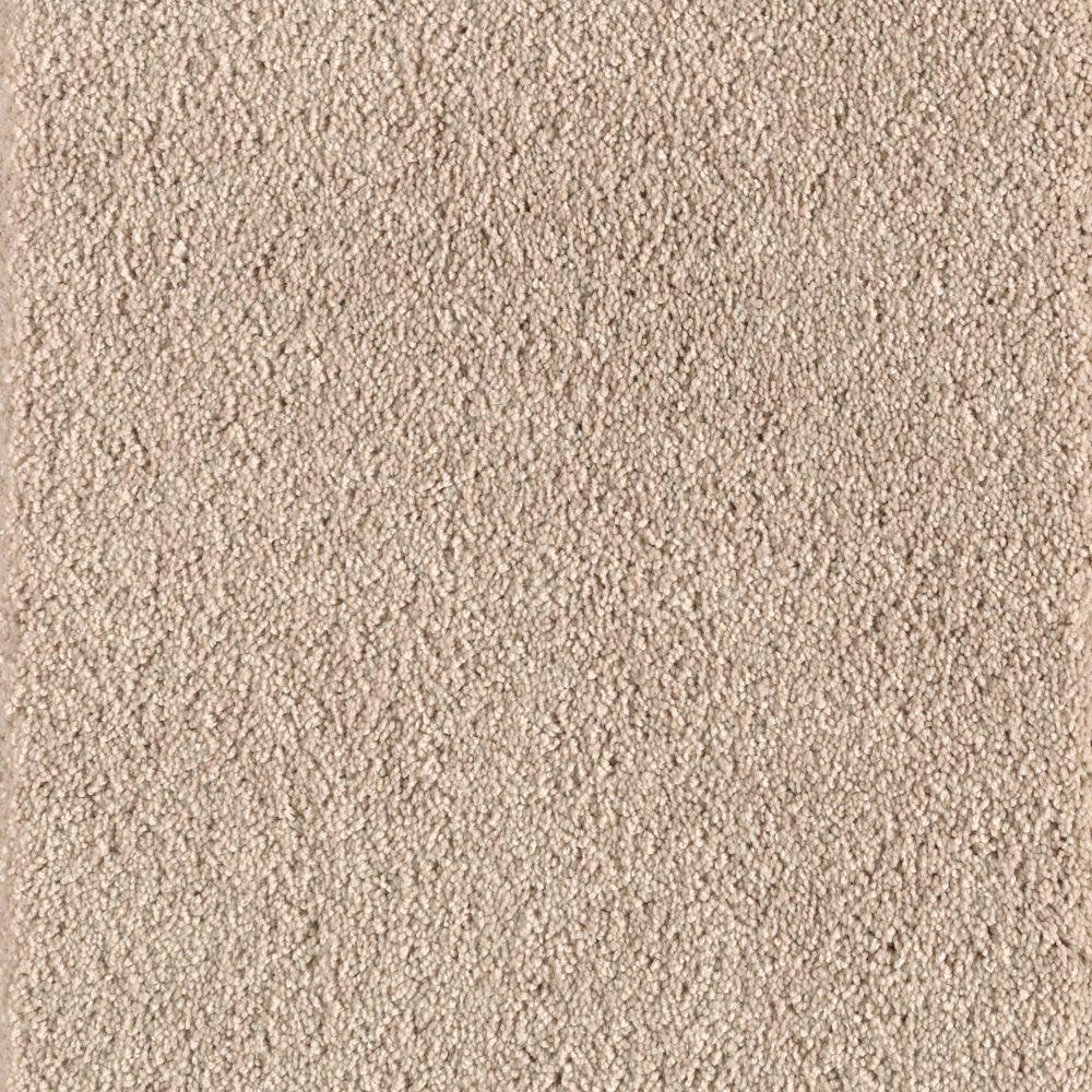 null Grandstand II - Color Wet Sand Texture 12 ft. Carpet