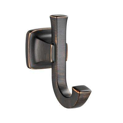Townsend Double Robe Hook in Legacy Bronze