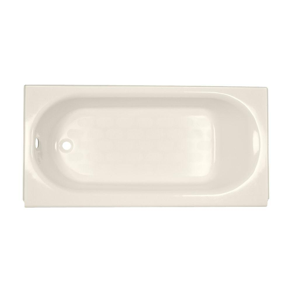 American Standard Princeton 5 ft. Left-Hand Drain Bathtub in Linen ...