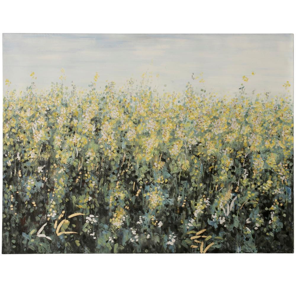 StyleCraft Flowers Field Art Multicolored Wooden Wall Art was $231.99 now $84.72 (63.0% off)