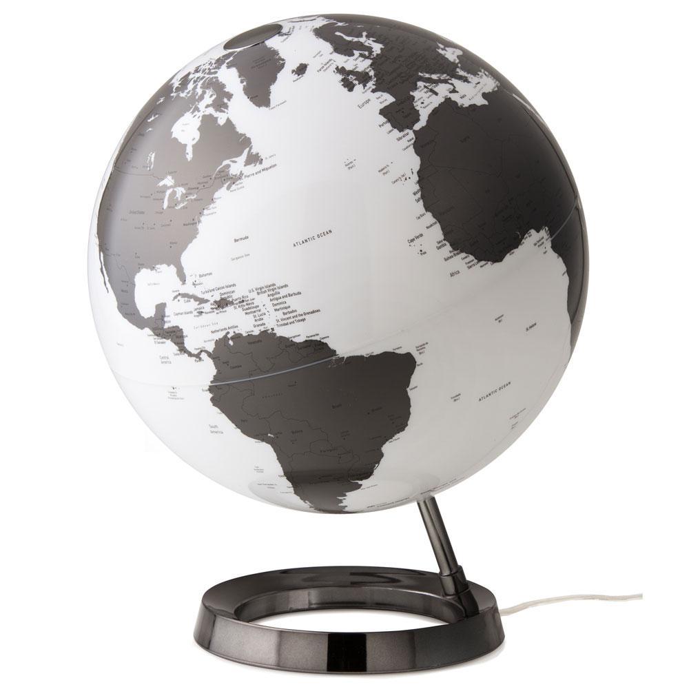 Light and Color 12 in. Charcoal Designer Series Desktop Globe