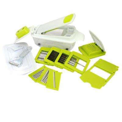 8-in-1 Multi-Use Chopper with Interchangeable Blades