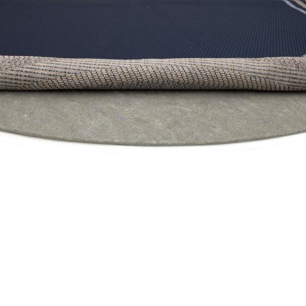 4 ft. x 4 ft. Dual Surface Round Rug Pad