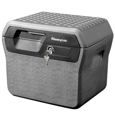 0.66 cu. ft. Fireproof Box and Waterproof Box with Key Lock