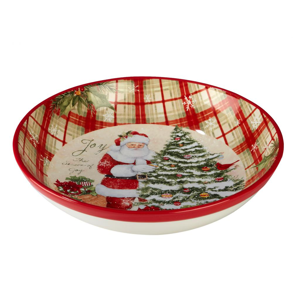 Holiday Wishes by Susan Winget 13.25 in. Serving/Pasta Bowl