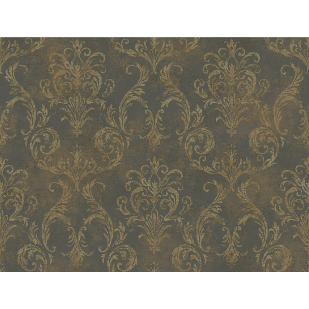 York Wallcoverings Hibiscus Floral Wallpaper Gl4657 The Home Depot