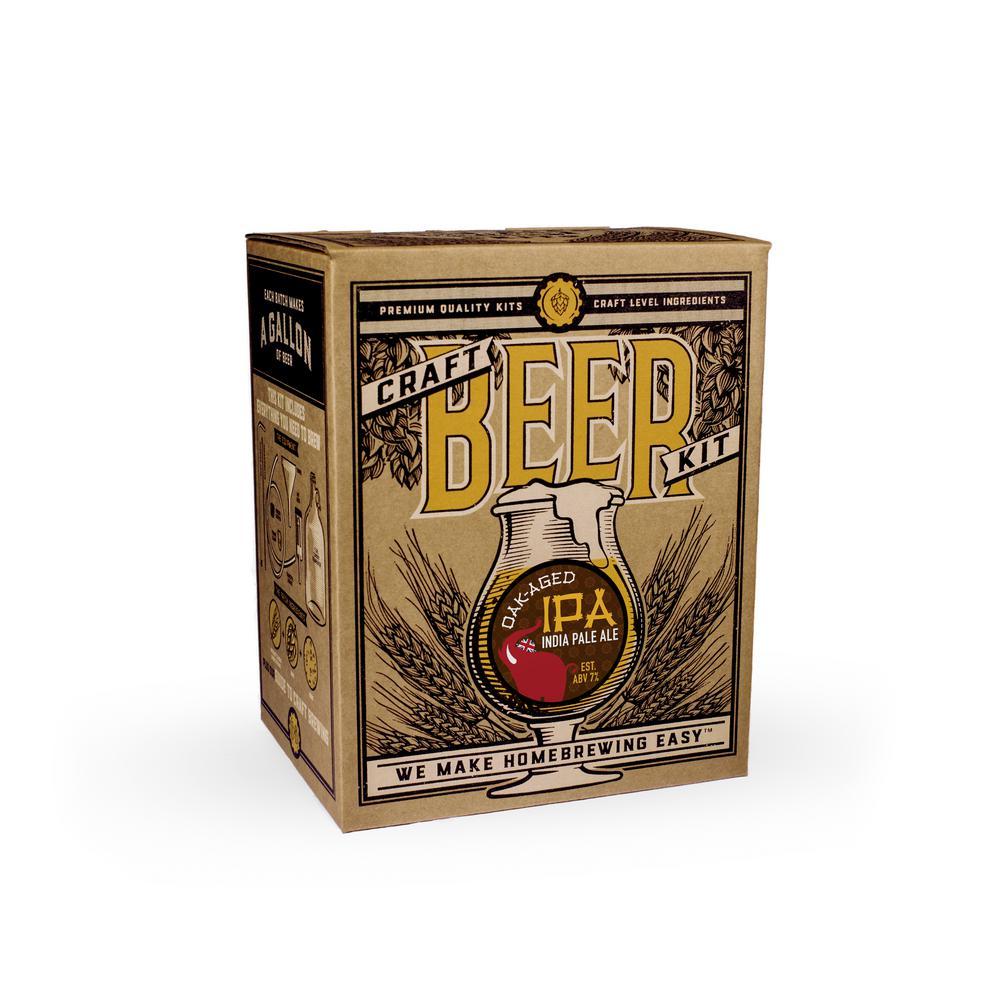 Beer Brewing Kit in Oak Aged IPA