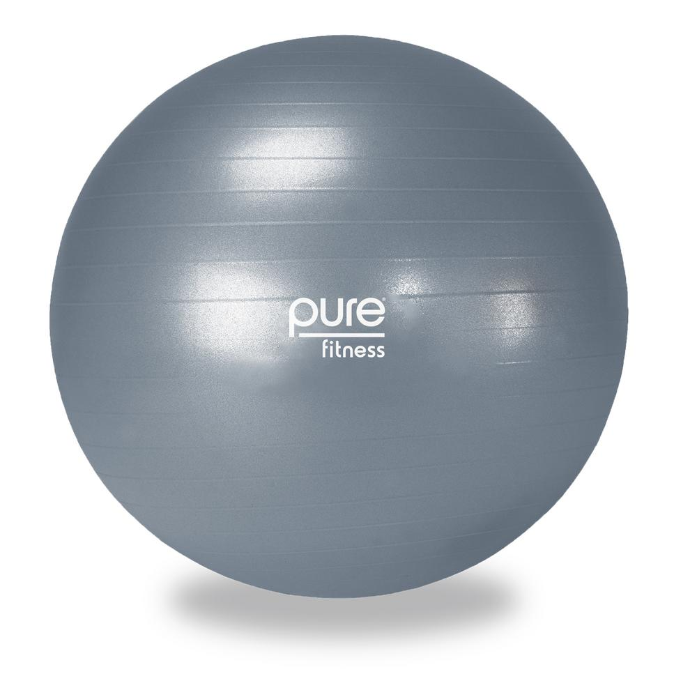 Exercise Ball 75cm Anti Burst: Pure Fitness 75 Cm Anti-Burst Exercise Stability Ball