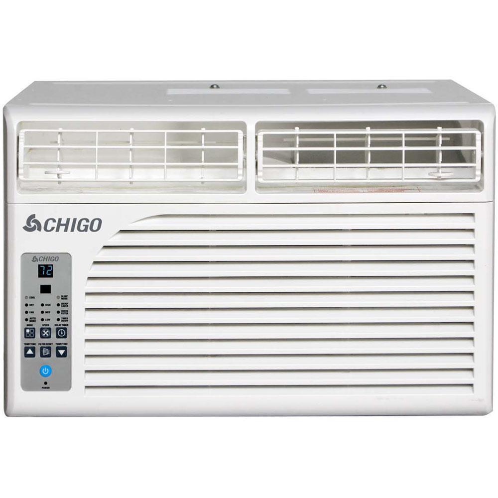 CHIGO Energy Star 8,500 BTU Window Air Conditioner with R...