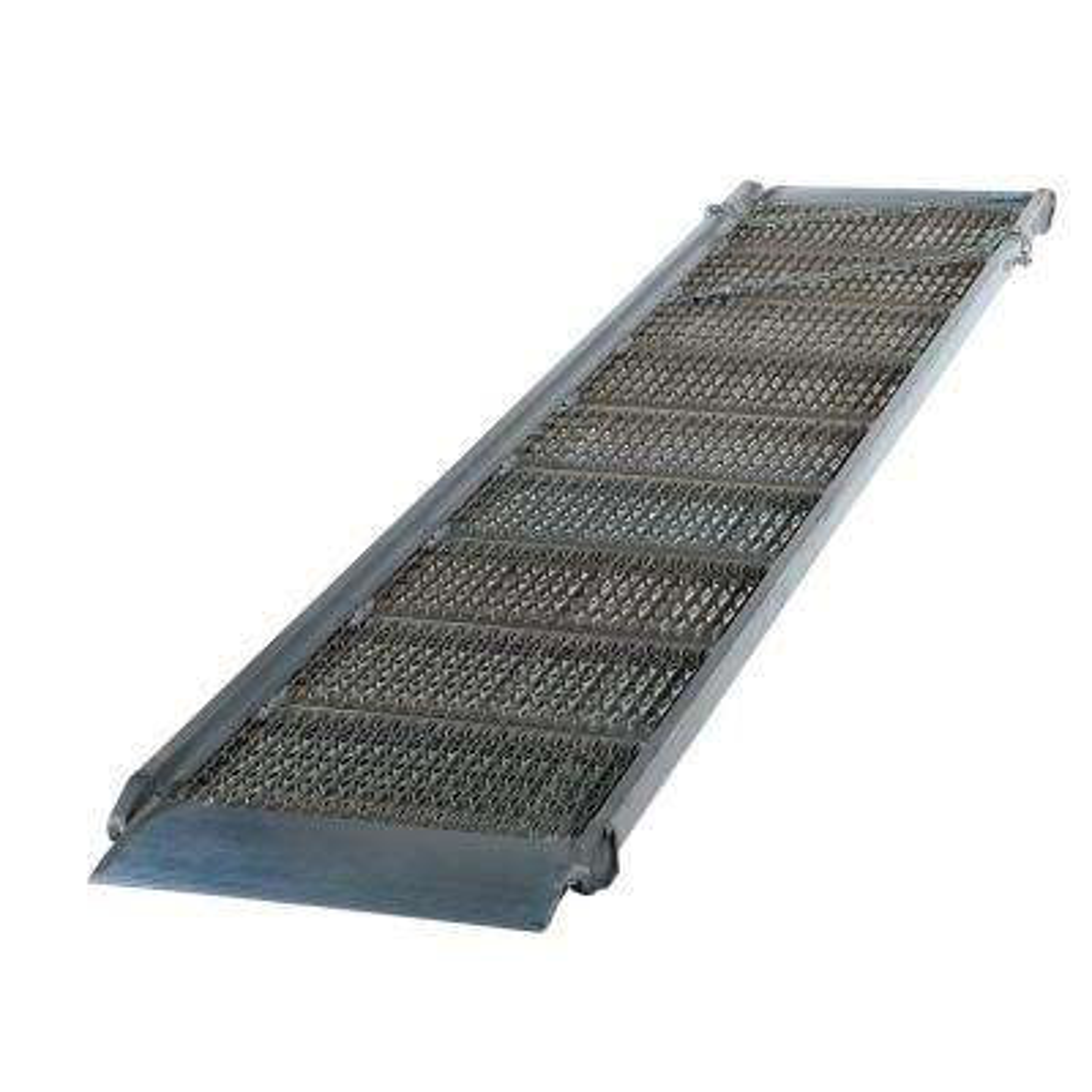 192 in. x 38 in. Aluminum Grip-Strut Walk Ramp