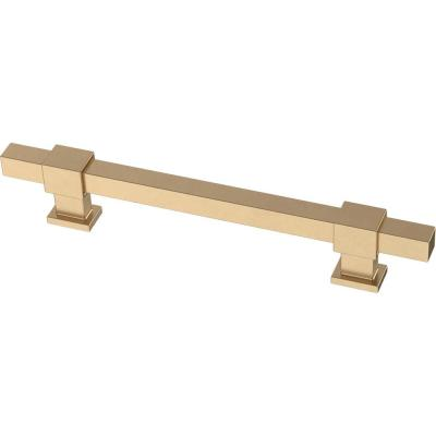 Adjusta-Pull  1-3/8 in. To 6-5/16 in. (35 mm/160 mm) Champagne Bronze Square Bar Pull (5-Pack)