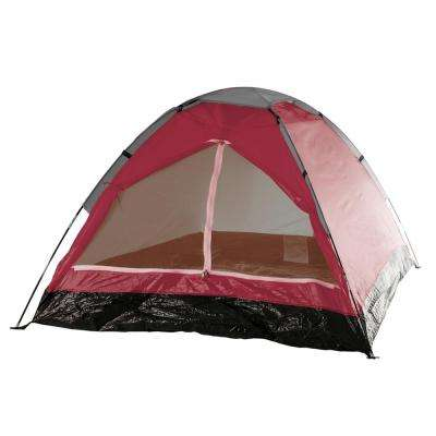 Happy Camper 2-Person Brick Red Tent