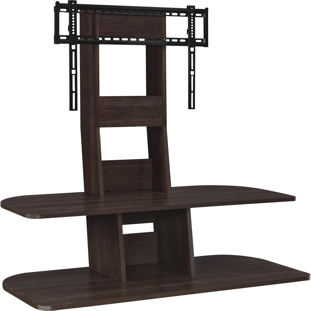 Ameriwood Park 65 In Espresso Tv Stand With Mount Hd70458