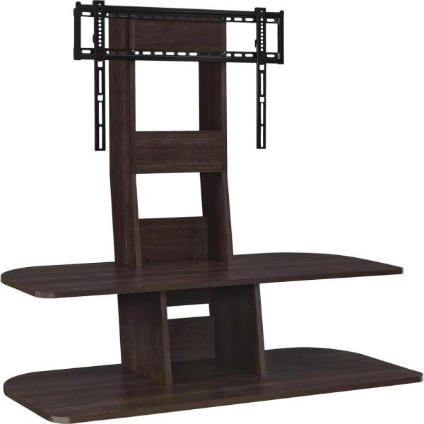 Ameriwood Park 65 in. Espresso TV Stand with Mount